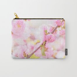 Pink sakura flowers - Japanese cherry blossom Carry-All Pouch
