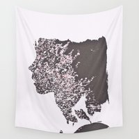 blush Wall Tapestries featuring Blush by Jane Lacey Smith