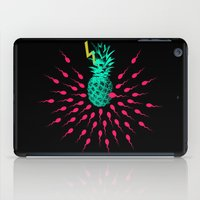 pineapple iPad Cases featuring Pineapple by mark ashkenazi