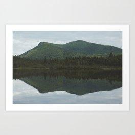 Twin Peaks. Art Print