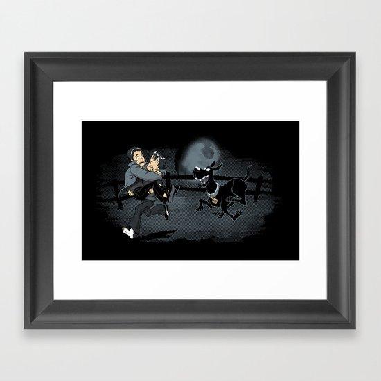 Scoobies Framed Art Print