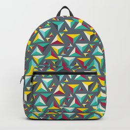 Pattern triangles Backpack