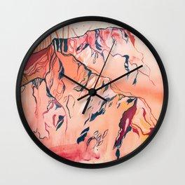 'Golden Hour' Wall Clock