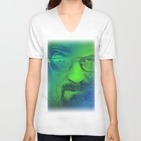 breaking bad V-neck T-shirts featuring Breaking Bad by Scar Design