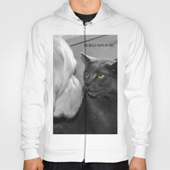 You really wanna do this? Hoody
