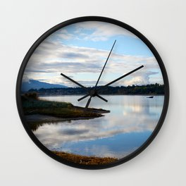 Goose spit Wall Clock