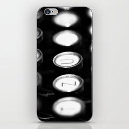 TYPEWRITER KEYS iPhone Skin