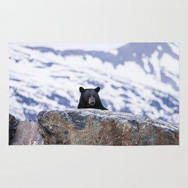 Black Bear Peak-A-Boo Rug