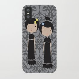 Meredith and Delany: Vampire Twins iPhone Case