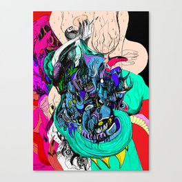 Pulled Into Lust Canvas Print