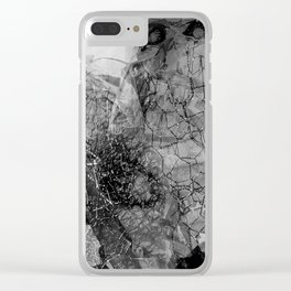 Mort Clear iPhone Case