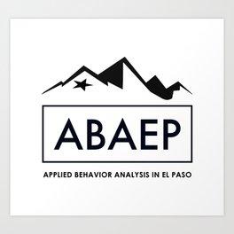 ABAEP Black Art Print