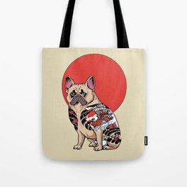French Bulldog Yakuza Tote Bag