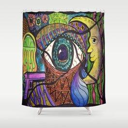 Santeria Shower Curtain