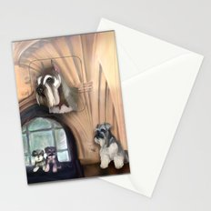 Schnauzer Stationery Cards