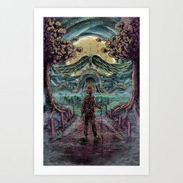 Secret Passage Art Print