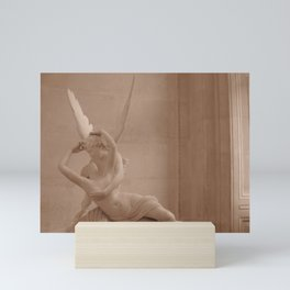 Psyche Revived by Cupid's Kiss Mini Art Print