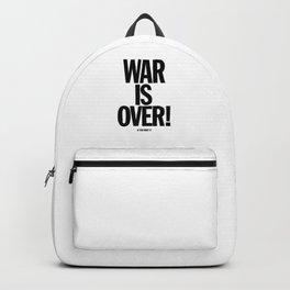 War Is Over - If You Want It -  John Lenon & Yoko Ono Poster Backpack