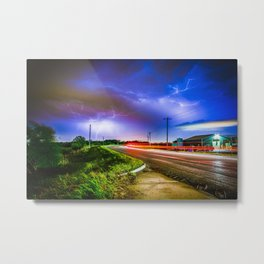 GODS ROAD Metal Print