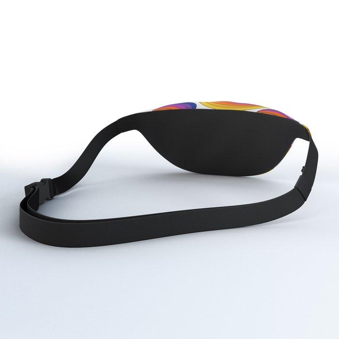 Rainbow Ribbons Fanny Pack