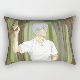 Wander in the forest Rectangular Pillow