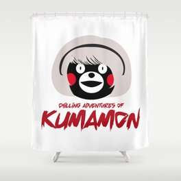 Chilling Adventures of Kumamon Shower Curtain
