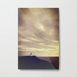 Pennard cliffs Metal Print