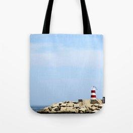 Sea Blocks Tote Bag