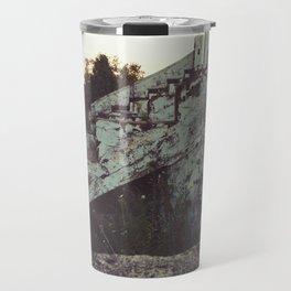 Old bleachers Travel Mug
