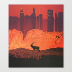 The Fire and The Flood Canvas Print