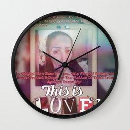 #VagUp! T-shirt Design #3 Wall Clock