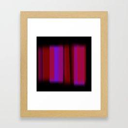 Vertical Blur 4 Framed Art Print