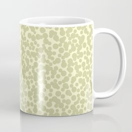 Mezzo Dots Green Pastel Coffee Mug