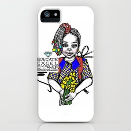 #STUKGIRL CHRISTOBAL iPhone Case