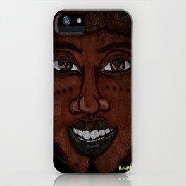 Afrikan Beauty iPhone Case