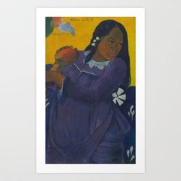 Paul Gauguin - Woman with Mango Art Print