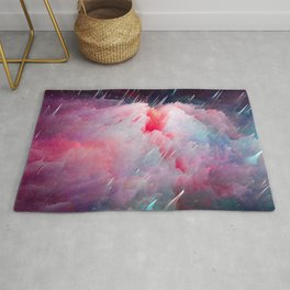 Space Unicorns Are Sounding the Sirens Rug