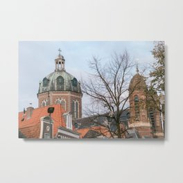 Dome church Hoorn | Netherlands | Dutch city Metal Print