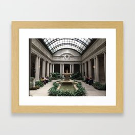 The Frick Museum Framed Art Print