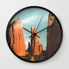 Desert Vortex Wall Clock