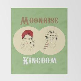 Moonrise Kingdom  Throw Blanket