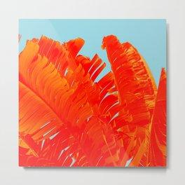 Flame On Island Paradise Metal Print