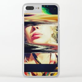 GLIDING through A BLACKHOLE Before BREAKFAST Clear iPhone Case