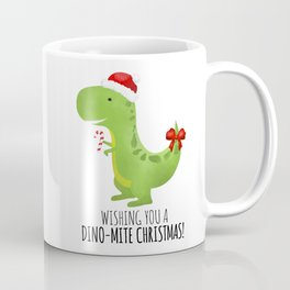 Wishing You A Dino-Mite Christmas Coffee Mug