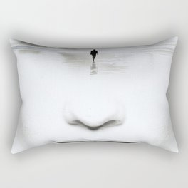 in thoughts Rectangular Pillow
