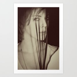 masked. 2011. Art Print