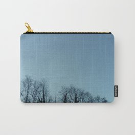 Fog and Forest- wood,mist,romantic, greenery,sunset,dawn,Landes forest,fantasy Carry-All Pouch