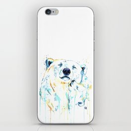 Polar Bear Unconditional Love iPhone Skin