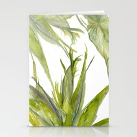 palms Stationery Cards featuring Palms by K.K. Designs