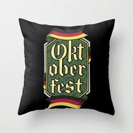 Funny Bayern Tirol Funny Sayings Oktoberfest Mens Fun T-Shirt Throw Pillow